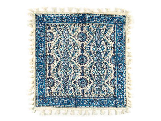 サラサ 約49×51cm ブルー sa049051001