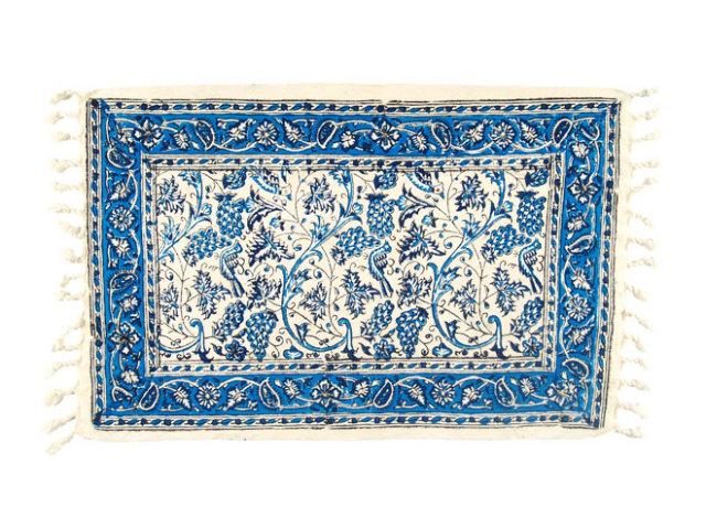 サラサ 約50×32cm ブルー sa050032001