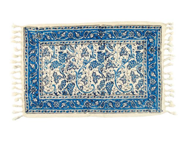 サラサ 約50×32cm ブルー sa050032002