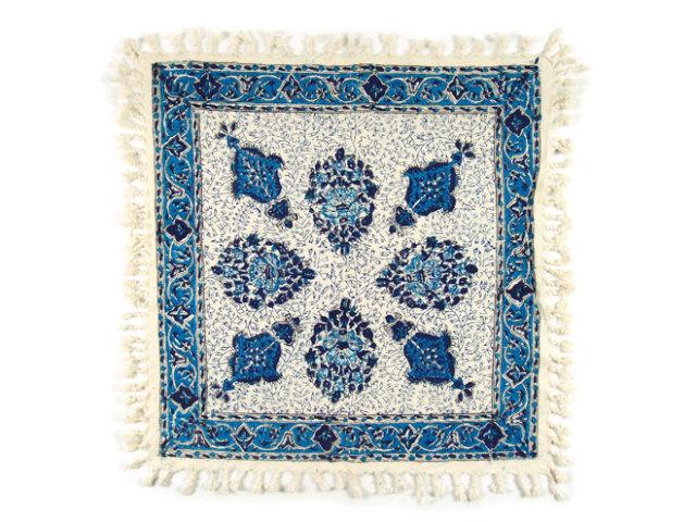 サラサ 約50×50cm ブルー sa050050001