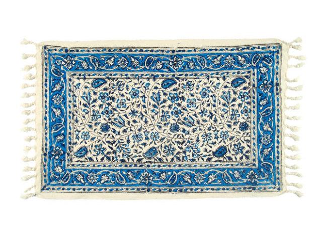 サラサ 約51×32cm ブルー sa051032001