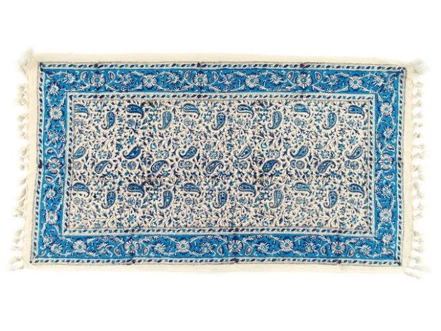 サラサ 約78×43cm ブルー sa078043002