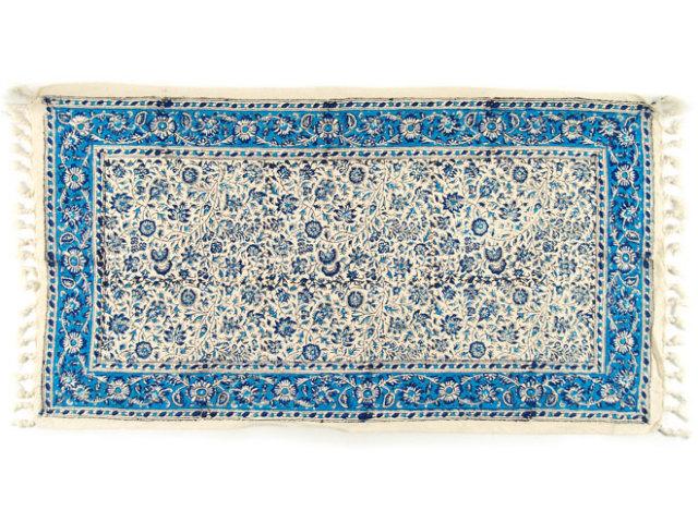 サラサ 約79×43cm ブルー sa079043001