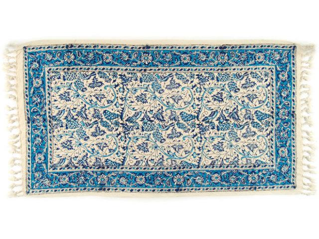 サラサ 約79×43cm ブルー sa079043002