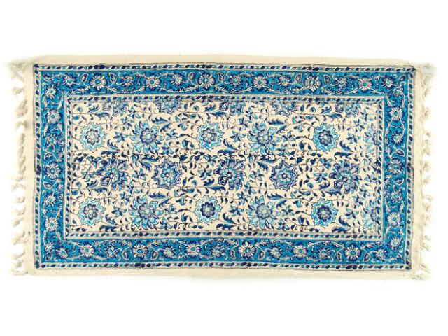 サラサ 約79×44cm ブルー sa079044001