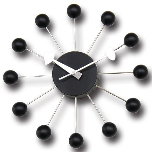 ジョージネルソン デザイナーズ家具 時計 クロック お洒落 モダンデザイン ボール・クロック