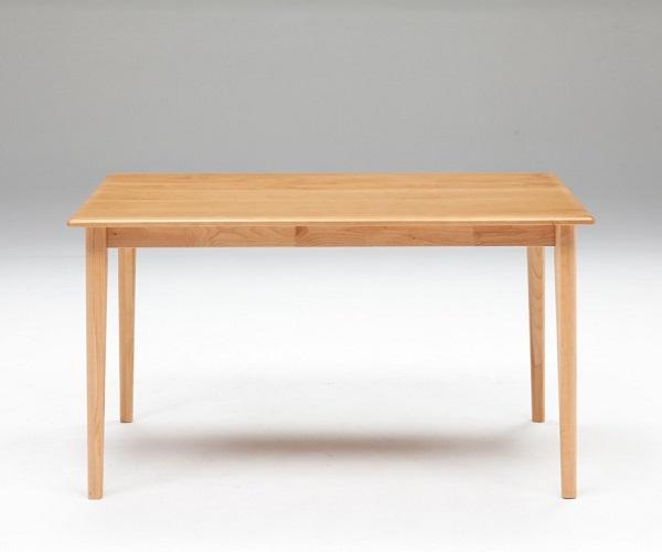 ダイニングテーブル 北欧家具 テーブル 天然木 無垢材 ナチュラル 幅125cm
