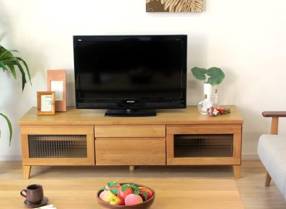 TVボード TV台 ローボード おしゃれ家具 天然木 アルダー無垢材 ナチュラル 幅150cm