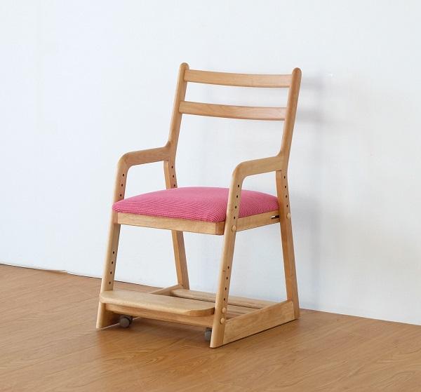 学習椅子 子供椅子 かわいい ピンク 学習チェア