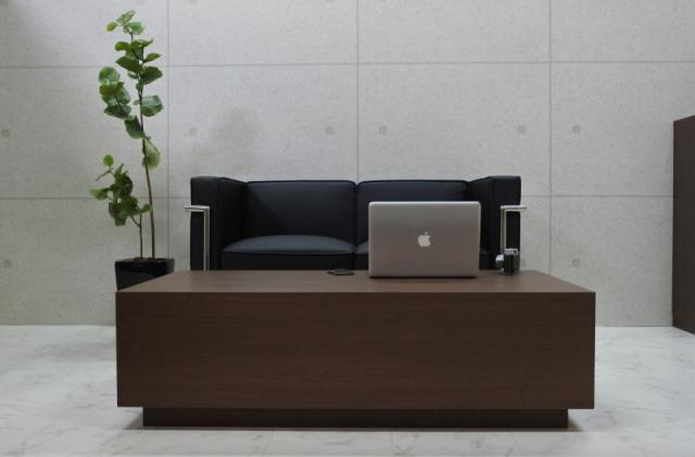 ローテーブル テーブル オフィス 高級 店舗 リビング ウォールナットダーク Grand-R