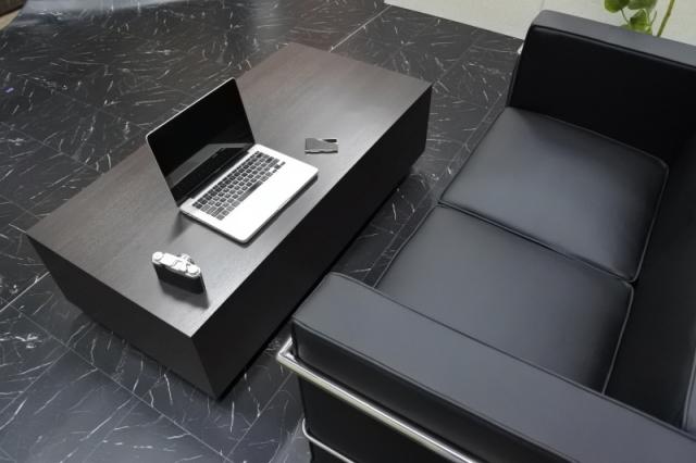 ローテーブル テーブル オフィス 高級 店舗 リビング ウォールナットダークブラウンGrand-R