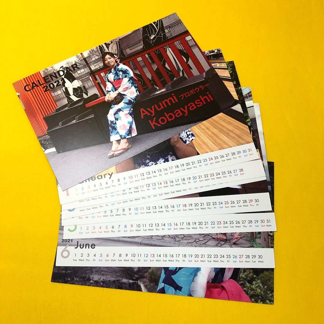 小林あゆみカレンダー2021