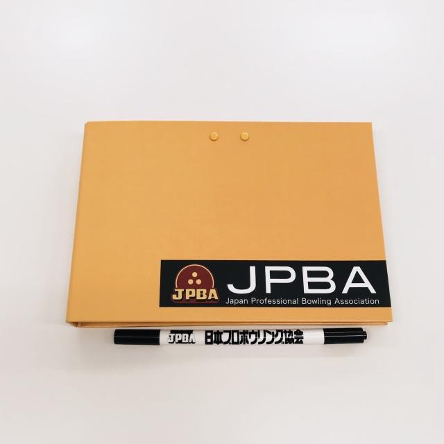 JPBAサイン帳オレンジ(ペン付き)