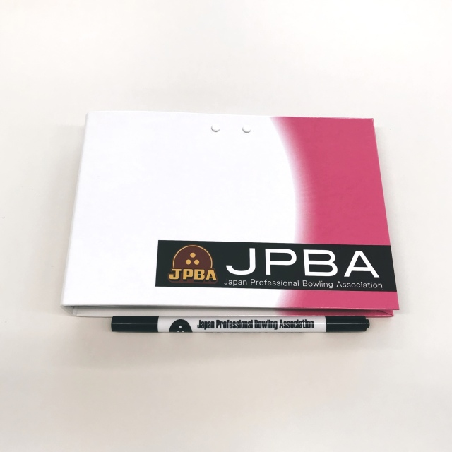 JPBAサイン帳ピンク(ペン付き)