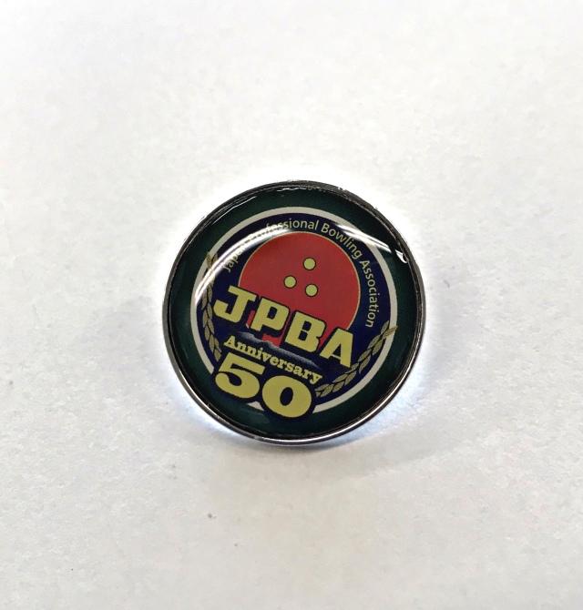 JPBA50周年ロゴマークピンバッジ