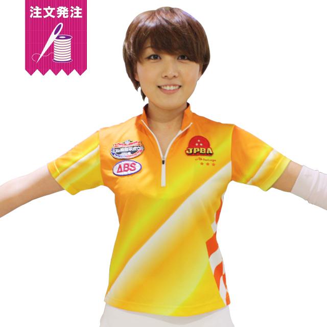 ユニフォーム オレンジ トップ アイコン入