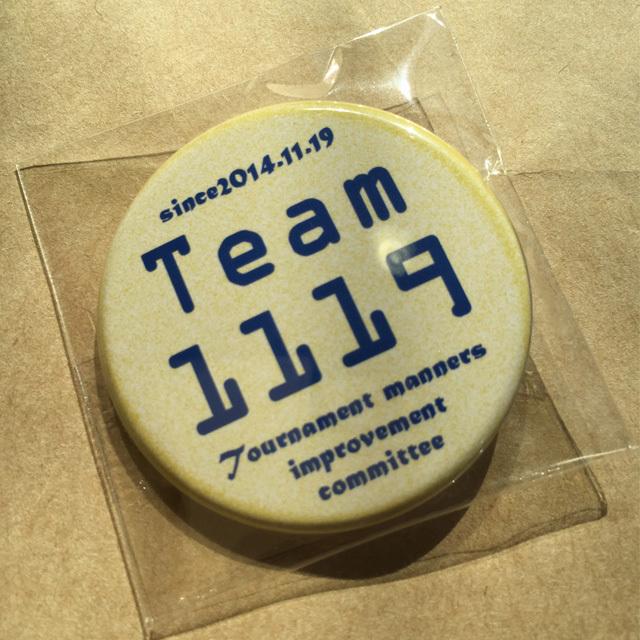 Team1119 缶バッジ