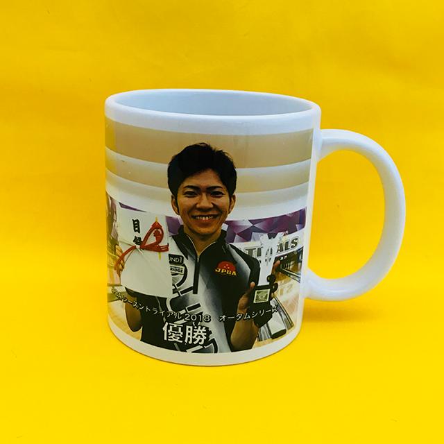 哲也プロ2018STオータム優勝記念マグカップ