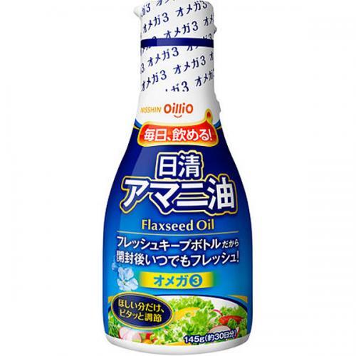 日清 アマニ油 145g 12本入り×1ケース(AH)