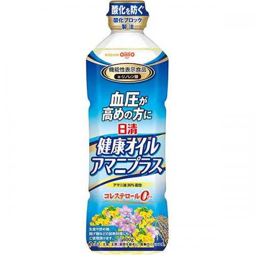 日清 健康オイルアマニプラス 600g 20本入り×1ケース(AH)