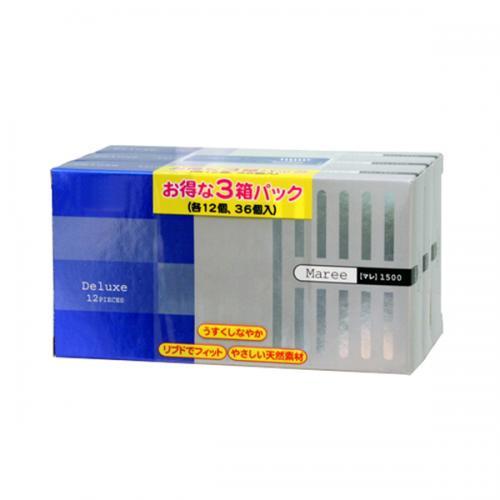 【コンドーム】マレ1500 12P×3箱(36個入)