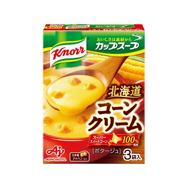 味の素 クノ-ルカップスープコーンクリーム 52.8g×60個入り (1ケース) (KT)