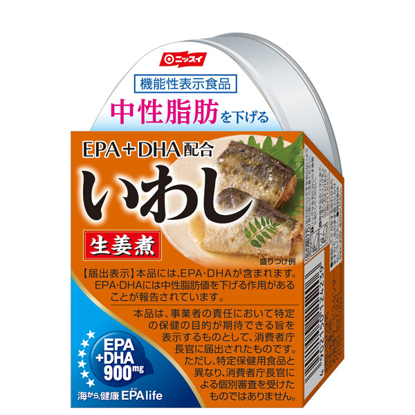 日本水産 EPA配合 いわし生姜煮 100g×24個 【機能性表示食品】 (AH)