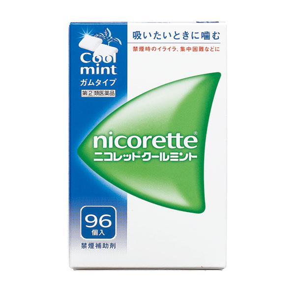 送料無料 【指定第2類医薬品】 ニコレットクールミント(96個入)