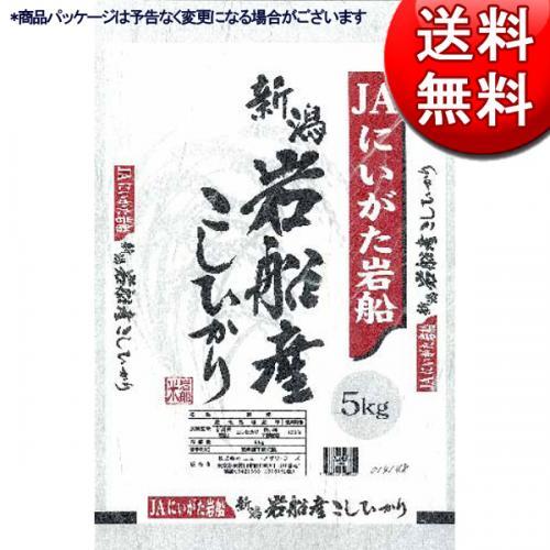 【送料無料】新潟県産 岩船こしひかり JAにいがた岩船産地指定米 5kg【直送品・クレジット決済のみ】NF