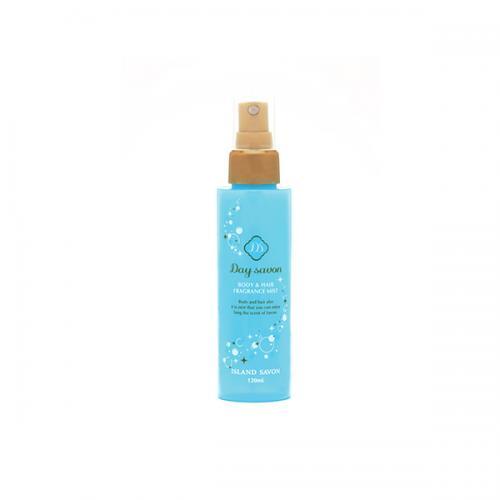 デイサボン ボディ&ヘアミスト【アイランドサボン(フルーティーで優しい石鹸の香り)】[化粧水] 120mL