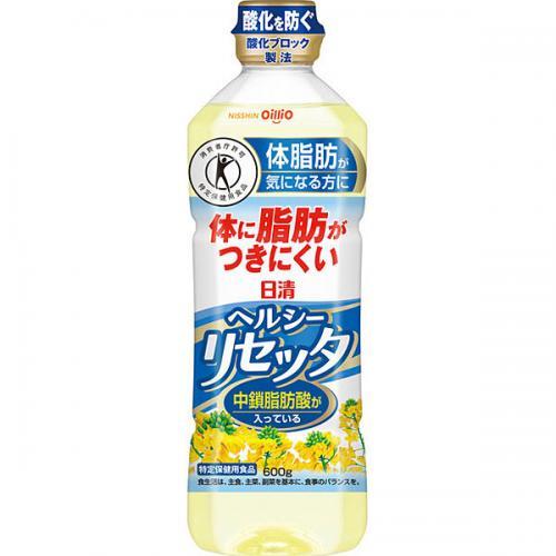 送料無料 日清 ヘルシーリセッタ  600g 20本入り×1ケース(MS)
