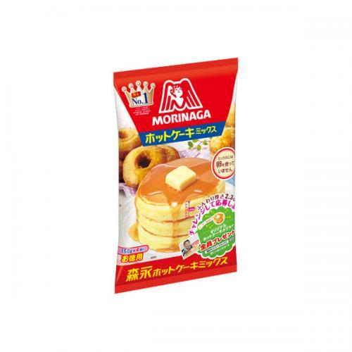 【送料無料】ホットケーキミックス 600g(150g×4袋) 12個×1ケース(森永製菓)【クレジット決済のみ】KK 送料込