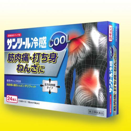 【第3類医薬品】 サンツール冷感 24枚入り 8枚×3袋入り