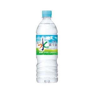 アサヒ おいしい水富士山600ml 24本入り×1ケース 【クレジット決済のみ】KT