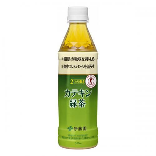 PET カテキン緑茶350ml 24本入り×1ケース(伊藤園)【クレジット決済のみ】