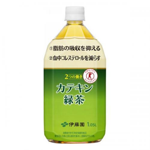 PET カテキン緑茶1.05L 12本入り×1ケース(伊藤園)【クレジット決済のみ】