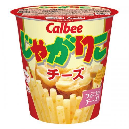 カルビー じゃがりこチーズ 12個入り×1ケース【クレジット決済のみ】(YB)【月間特売】