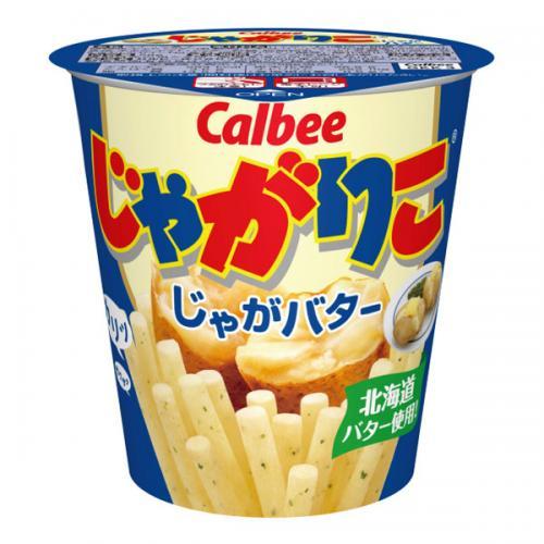 カルビー じゃがりこじゃがバター 12個入り×1ケース【クレジット決済のみ】(YB)【月間特売】