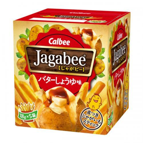 カルビー Jagabee バターしょうゆ味 12個入り×1ケース【クレジット決済のみ】(YB)