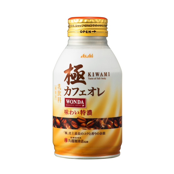 アサヒ ワンダ極カフェオレ 260g×24本入り (1ケース) (KT)
