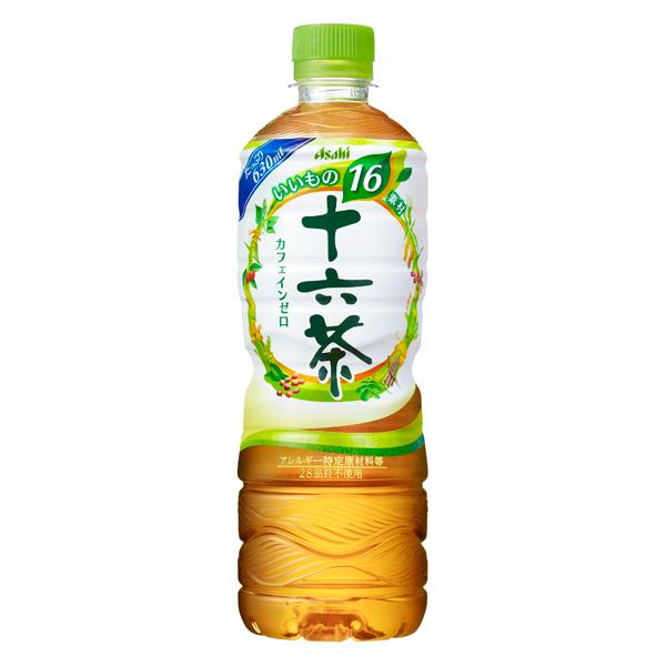 アサヒ 十六茶 630ml×24本入り (1ケース) (KT)