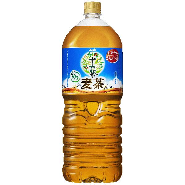 アサヒ 十六茶麦茶 2.0L×6本入り (1ケース) (KT)