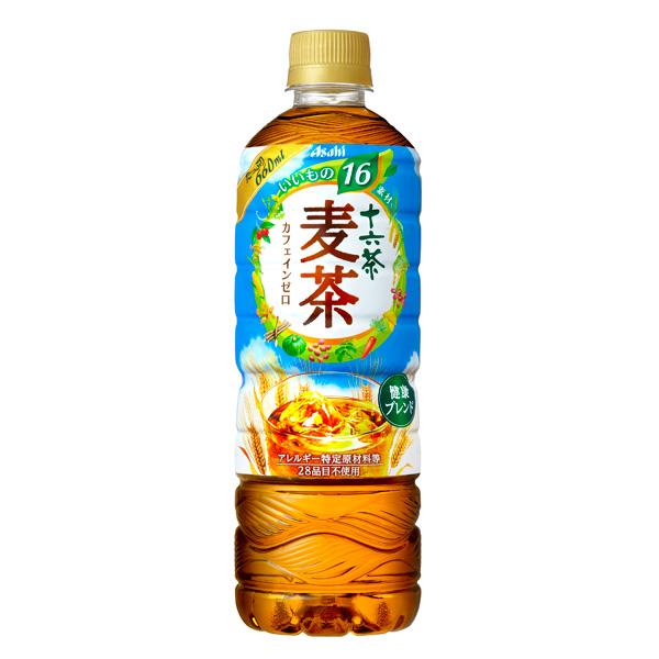 アサヒ 十六茶麦茶 660ml×24本入り (1ケース) (KT)