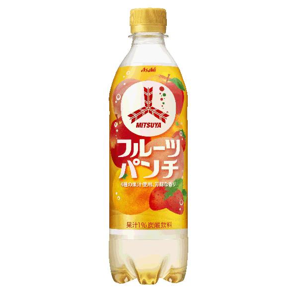 アサヒ 三ツ矢フルーツパンチ 500ml×24本入り (1ケース) (KT)