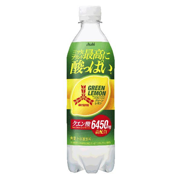 アサヒ 三ツ矢グリーンレモン 500ml×24本入り (1ケース) (KT)