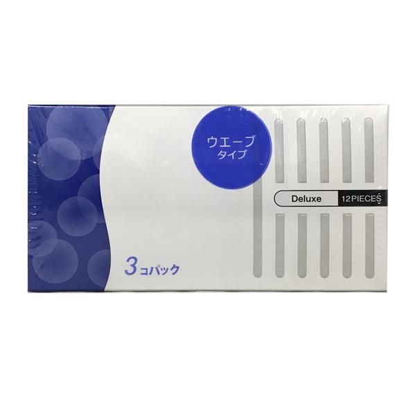 【コンドーム】リブドウエーブ デラックス  12P×3箱(36個入)