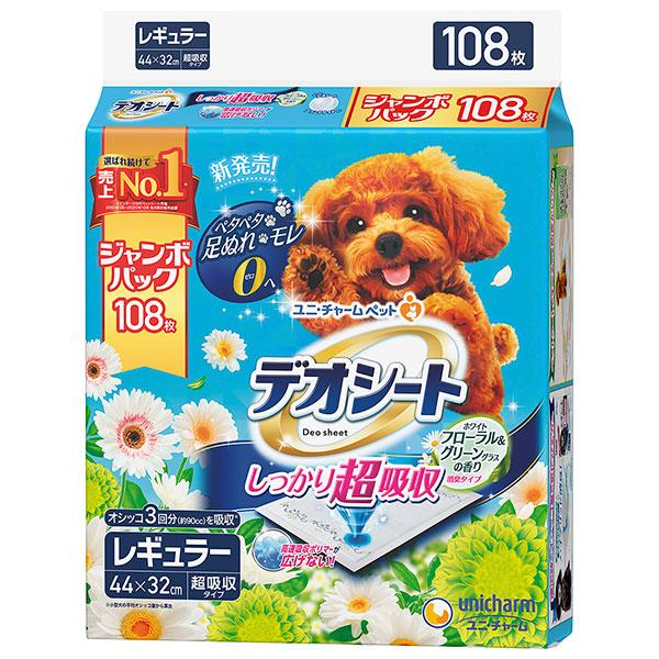 デオシート フローラル&グリーン レギュラー 108枚×4個入り (1ケース)(JP)