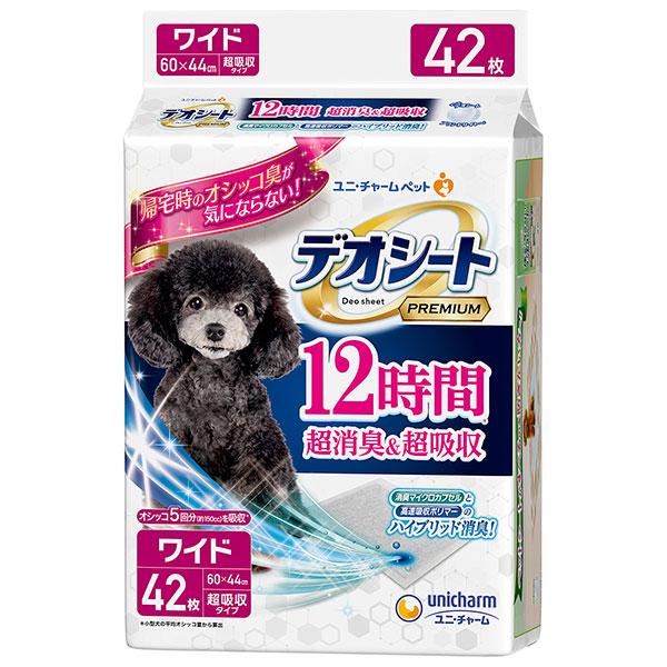 デオシート プレミアム ワイド 42枚×4個入り (1ケース)(JP)