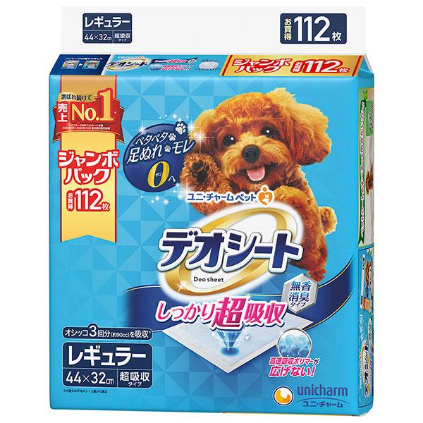 デオシート ジャンボパック レギュラー 112枚×4個入り (1ケース)(JP)