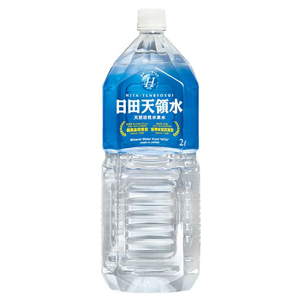 送料無料 グリーングループ 日田天領水 2L×10本(MS)